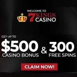 7 Kings Casino banner