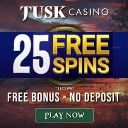 Tusk Casino free spins