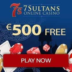 50 gratis spins and €500 free bonus - no deposit required!