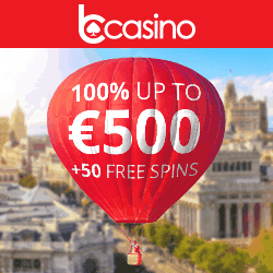 Open your account and get free spins!