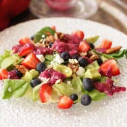 Avocado Salad with Berries | One Dish Kitchen