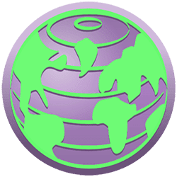 Tor browser logo.