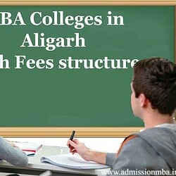 MBA Colleges in Aligarh with Fees structure