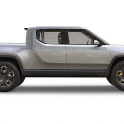 rivian electric utility truck