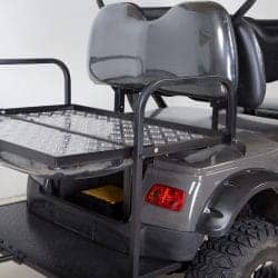 electric golf cart with utility bed