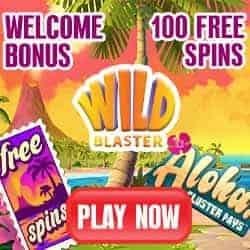 Wildblaster Casino [BTC] 100 free spins & 20 FS no deposit bonus