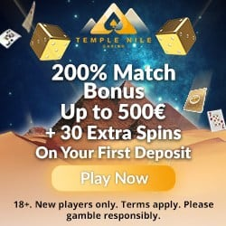 Exclusive Offer to TempleNile.com Casino
