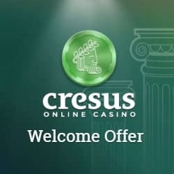 Cresus Casino 150% up to €300 free bonus + gratis spins