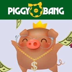 Piggy Bang Casino 55 free spins on Book of Dead (no wager bonus)