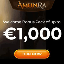 Join AmunRa and win free spins!