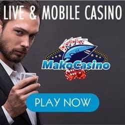 Mako Casino €1,000 free bonus on Slots, Jackpots & Live Dealer