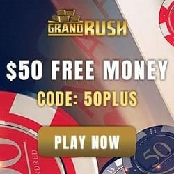 $50 free chip bonus (Australia & New Zealand)