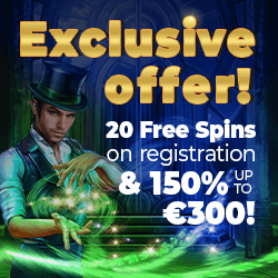 Exclusive Promo: 20 free spins