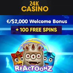 24K (24kcasino.com) | No Deposit Free Spins Bonus