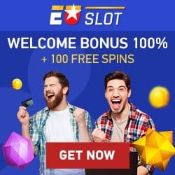 100 free spins and €500 welcome bonus code