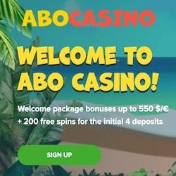 Register at AboCasino.com