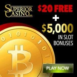 Is Superior legit? Get $25 FREE + $5,000 in slot bonuses