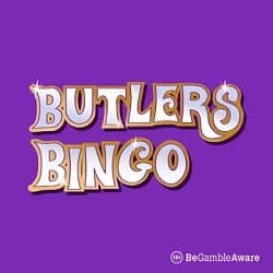 Butlers Bingo Casino 67 free spins plus 300% up to £100 instant bonus