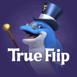 TrueFlip.io 200% instant bonus + 50 free spins on Book of Dead