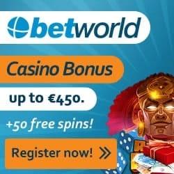 Betworld Casino banner new