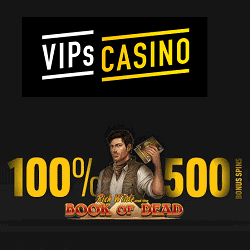 500 bonus spins on Book of Dead slot!