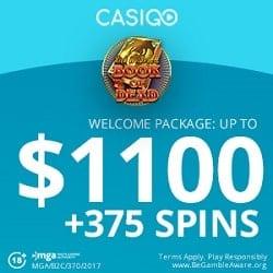 CasiGO Casino banner bonus spins