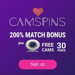 CamSpins Casino - no. 1 online casino with free sexy live cams!