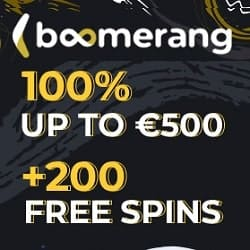 100% up to 500 EUR and 200 free rounds