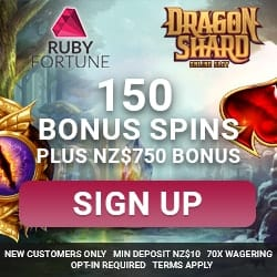 Ruby Fortune gratis spins bonus