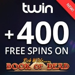 Twin 400 free spins games