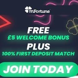 mFortune Casino £5 free cash no deposit bonus (SCAM!)