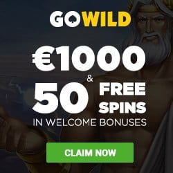 How to get $1000 free bonus and 50 free spins to GoWild Casino?