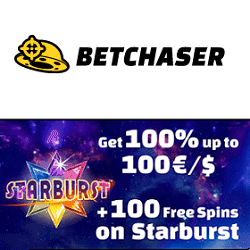 Exclusive Welcome Bonus to Bet Chaser Casino!