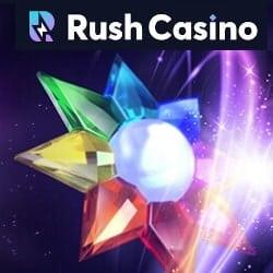 Rush Casino bonus banner 250x250