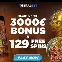 Is AstralBet Casino legit? Get $/€3000 bonus and 129 free spins!