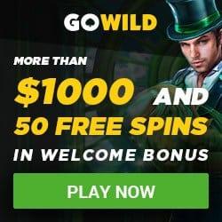 Is GOWILD Casino legit? Get $/€1000 bonus and 50 free spins!