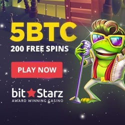 200 free spins on Elvis Frog in Vegas slot machine