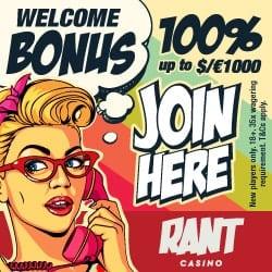 Rant Casino new banner