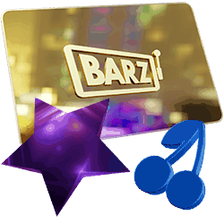 Barz Casino logo banner