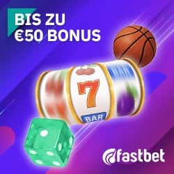 Fastbet Casino €50 gratis bonus - No registration & Fast cashout!