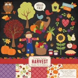 Free Fall Harvest Clipart 2