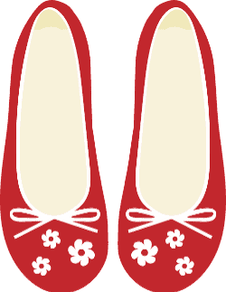 De rode schoentjes sprookje