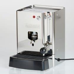 La Piccola Sara Inox Ansicht vorne ESE Espressomaschine