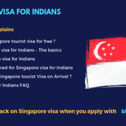 Singapore Tourist Visa for Indians