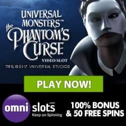 Omni Slots Casino €/$500 bonus & 70 free spins - play to win big!