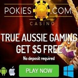Pokies.com Casino 30 free spins and 250% up to €800 bonus