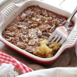 Pecan Pie For One | one dish kitchen