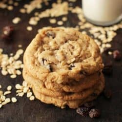 oatmeal cookies - small batch | One Dish Kitchen