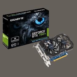 Videokaart Gigabyte GeForce GTX750 2 GB GDDR5