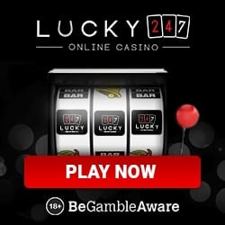 Lucky 247 Casino | 50 free spins & 175% up to €500 bonus